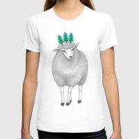 sheep T-shirts featuring sheep by talltree