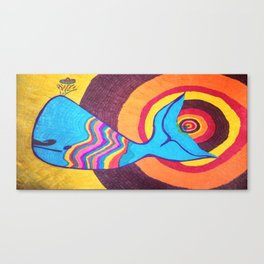 Bruce The Whale Canvas Print