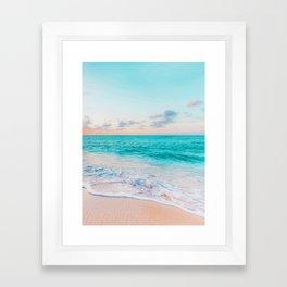 Ocean Bliss #society6 #society6artprint #buyart Framed Art Print