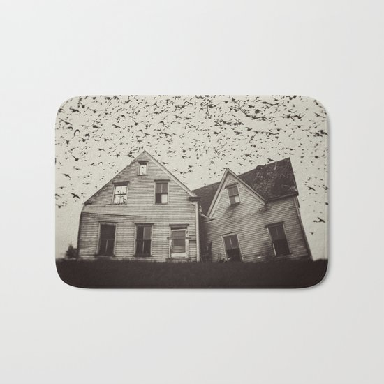 Home of Murmuration Bath Mat