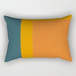 Little Boxes, Geometric Shapes Rectangular Pillow