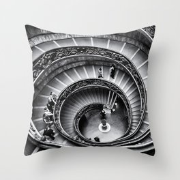 Vatican Staircase Throw Pillow