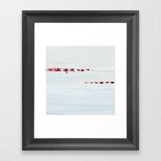 Morning Shore Framed Art Print