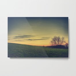 Until Dusk Metal Print