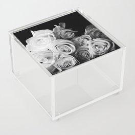 White Roses Acrylic Box