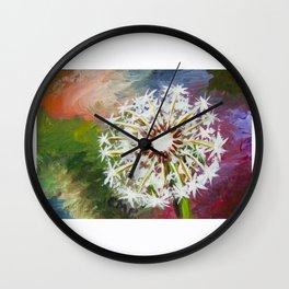 Wishing Seeds Wall Clock