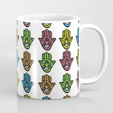 Watercolor - HAMSA HAND Coffee Mug