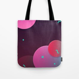 Fluid shapes Tote Bag