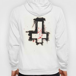 Inverted Cross Shirt Hoody