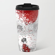 Japanese Poem Metal Travel Mug