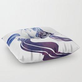 Water Nymph XXXI Floor Pillow