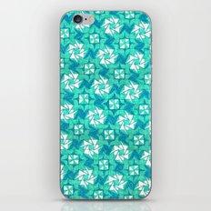 Aquamarine  iPhone & iPod Skin