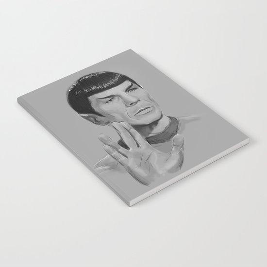 Spock Portrait Star Trek Notebook