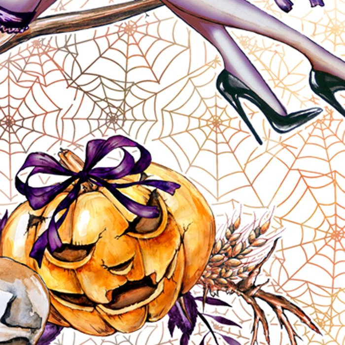 Halloween Witch #2 Leggings