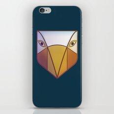 Bird tribal mask iPhone & iPod Skin