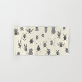 beetles Hand & Bath Towel