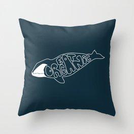 The Bowhead Throw Pillow