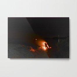 Campfire. Metal Print