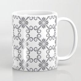 Grey Swirl Pattern Coffee Mug