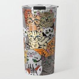Cats, cats and more cats Travel Mug