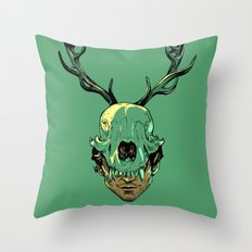 Shiizakana Throw Pillow