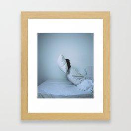 Sleepyhead Framed Art Print