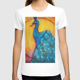 Peacock Sunrise T-shirt