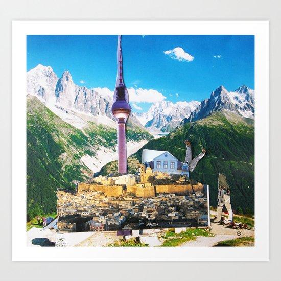 Surreala Alpina 29 Art Print