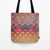 bubbles Tote Bags featuring Bubbles by PhotoStories