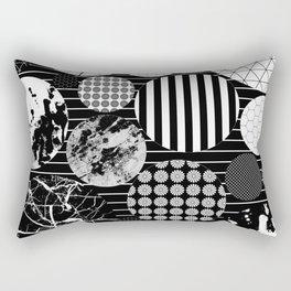 Eclectic Circles II Rectangular Pillow