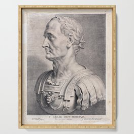 Gaius Julius Caesar Serving Tray