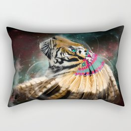 Fight For What You Love (Chief of Dreams: Tiger) Tribe Series Rectangular Pillow