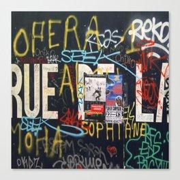 RUEDELA Canvas Print