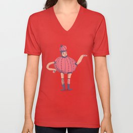 Teapot dress Unisex V-Neck
