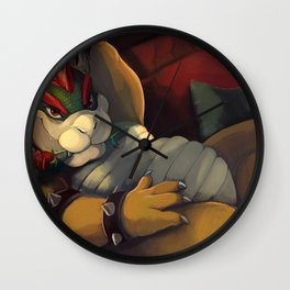 Bowser Day Promotional Wall Clock