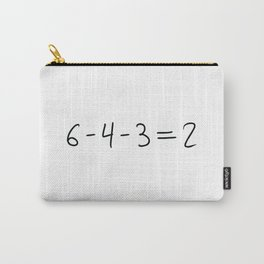 Double Play Equation Carry-All Pouch