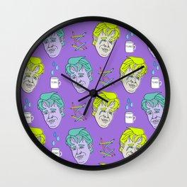 Crying Dawson (Purple) Wall Clock