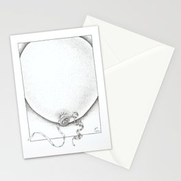 Swollen Balloon Stationery Cards