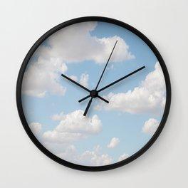 Daydream Clouds Wall Clock