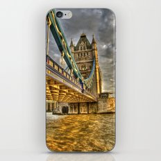 Sunset at Tower Bridge iPhone & iPod Skin