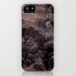 Shadows of Roses & Clouds iPhone Case