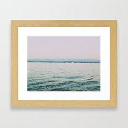 Cant Beat This View Framed Art Print