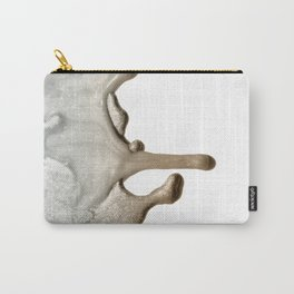 LIQUID SILVER & NUDE Carry-All Pouch