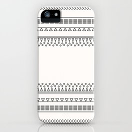 Tribal Pattern of Balondo iPhone Case