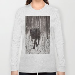 Snow Wolf Long Sleeve T-shirt