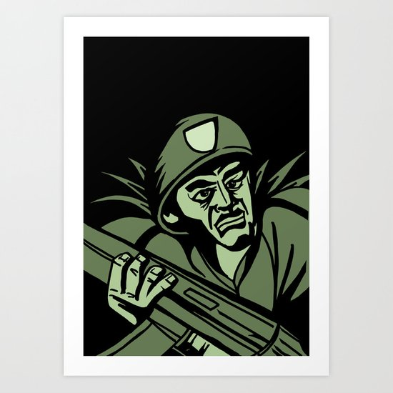 This is my Weapon Art Print