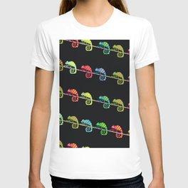 Color chameleon T-shirt