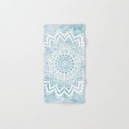 LIGHT BLUE MANDALA SAVANAH Hand & Bath Towel