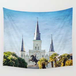 Jackson Square New Orleans Wall Tapestry