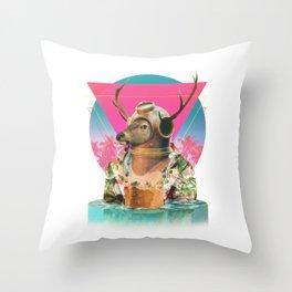 Summer Mood Throw Pillow